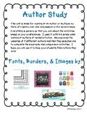 Author Study (Generic)