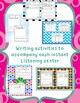 Author Study - 7 Instant Listening Center Pack - QR Coded - Great for Centers!