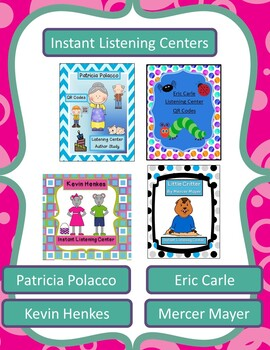 All Instant Listening Centers -QR Coded - Great for Centers!