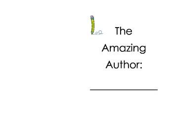 Author Study Interactive Notebook