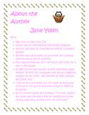 Author Study Jane Yolen