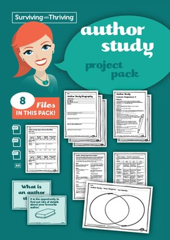 AUTHOR STUDY Jeannie Baker Project Pack