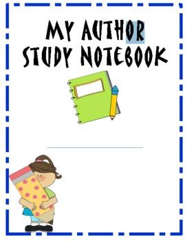 Author Study Journal