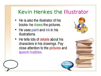 Author Study: Kevin Henkes Powerpoint