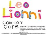 Author Study Leo Lionni (common core)