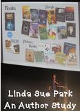 Author Study:  Linda Sue Park - Bundle, Printables - middle school