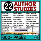 Author Study Packet BUNDLE
