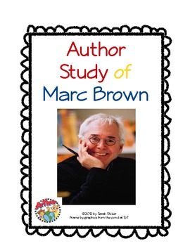 Author Study: Marc Brown
