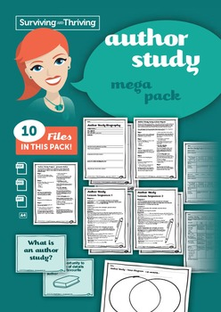 AUTHOR STUDY Mega Pack