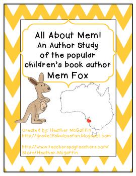 Author Study: Mem Fox
