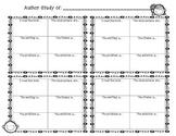 Author Study Organizers