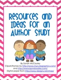Author Study Pack