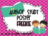 Author Study Poster {FREEBIE}