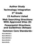 Author Study Powerpoint Activity