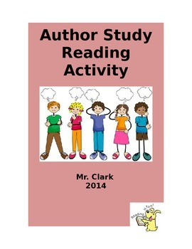 Author Study Reading Packet