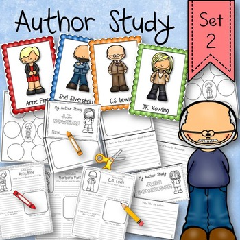 Author Research Study Activity Set 2