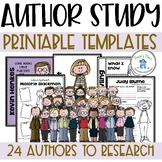 Author Study Templates