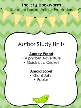 Author Study Units ~ Audrey Wood and Arnold Lobel