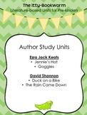 Author Study Units ~ Ezra Jack Keats and David Shannon