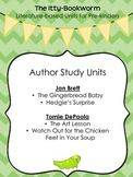 Author Study Units:  Jan Brett and Tomie DePaola