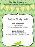 Author Study Units ~ Laura Numeroff and Julia Donaldson