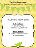 Author Study Units ~ P.D. Eastman and Kevin Henkes