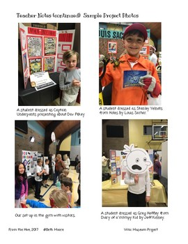 Author Study- Wax Museum project