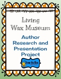 Author Study through a Wax Museum project