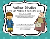 Author Study for Chris Van Allsburg and Tomie DePaola : Compare and Contrast