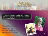 Author Study of Brian Jacques