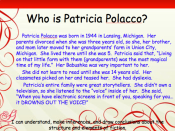 Author Study of Patricia Polacco