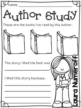 Author Study part two