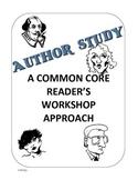 Author Study unit using common core craft & structure
