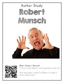 Author Study with QR Codes - Robert Munsch