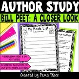 Author Study Activities Bill Peet
