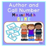 Author and Call Number Mix and Match Card Game - Library C