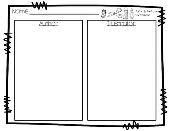 Author and Illustrator Activities