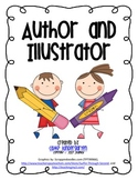 Author and Illustrator Posters, Song and Cards {freebie}