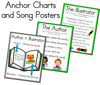 Author and Illustrator Songs and More!