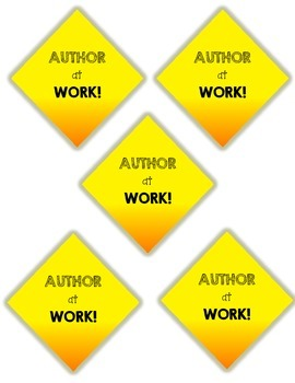 Author at Work! Writer's Workshop Labels