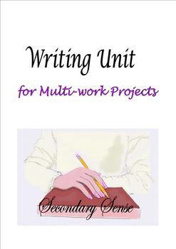 WRITING UNIT for Multi-work Projects