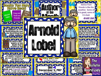Author of the Month - Arnold Lobel