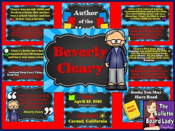 Author of the Month Beverly Cleary