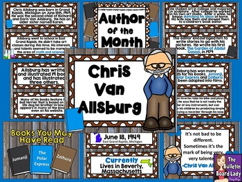 Author of the Month Chris Van Allsburg