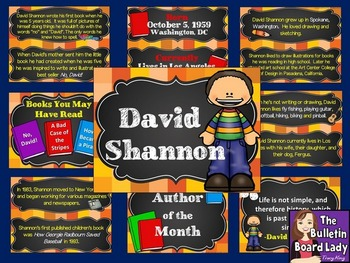 Author of the Month David Shannon