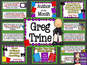 Author of the Month Greg Trine
