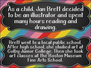 Author of the Month Jan Brett