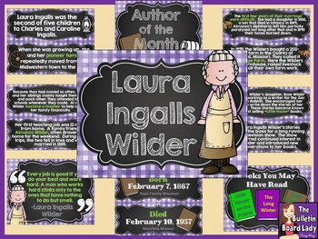 Author of the Month Laura Ingalls Wilder