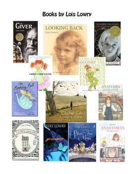 Author of the Month: Lois Lowry