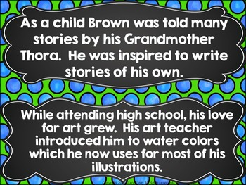 Author of the Month Marc Brown